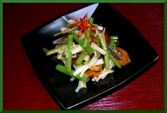 山菜ミックス中華風サラダ